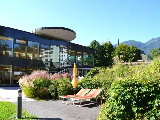 Das Thermenglück liegt fast vor der Haustüre; Eurothermenresort in Bad Ischl