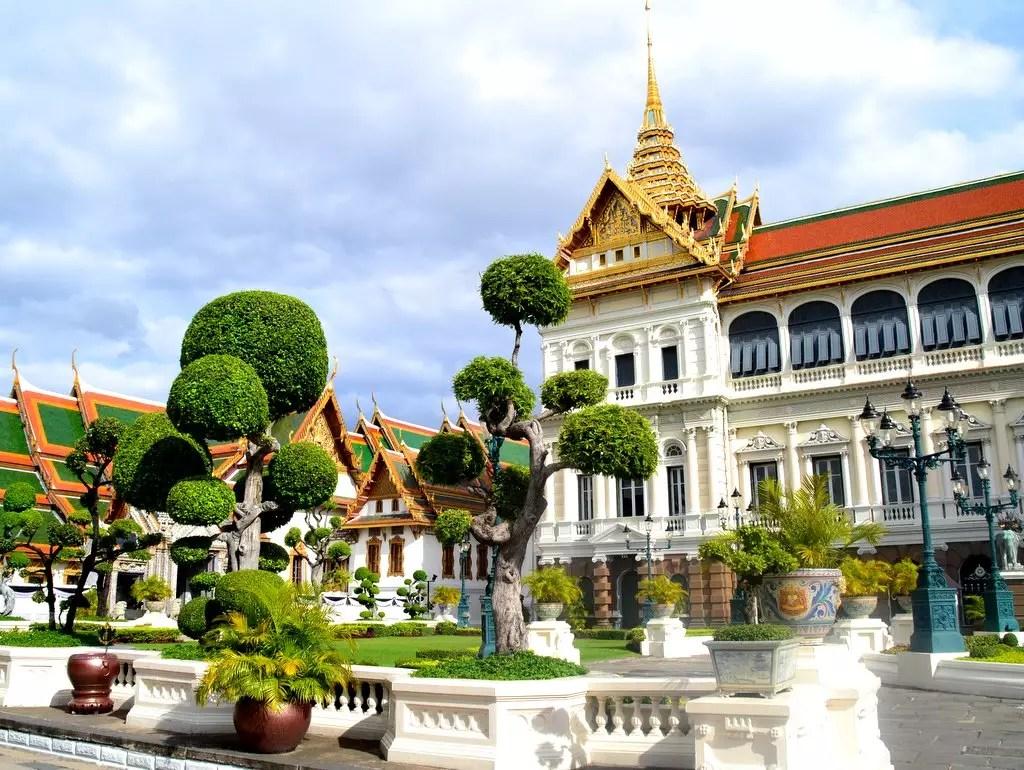 Königspalast in Bangkok Chakri Maha Prasat