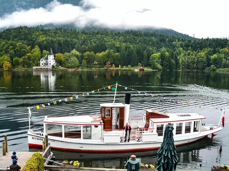 Ausflugsschiff Rudolf am Grundlsee
