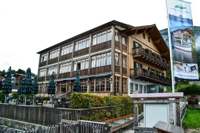 Seehotel Grundlsee Bootsanlegestelle