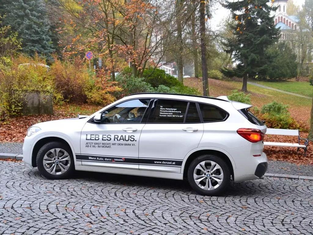 Auf der Suche nach einem neuen Auto; BMW X1