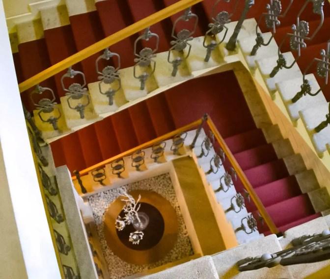 Stiegenhaus Hotel Falkensteiner
