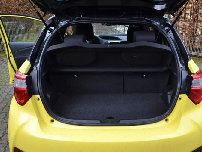 Kofferraum Toyota Yaris