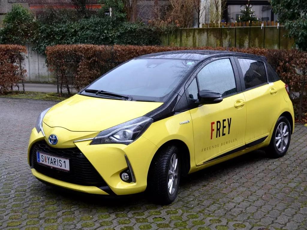 Projekt neues Auto; Toyota Yaris Hybrid