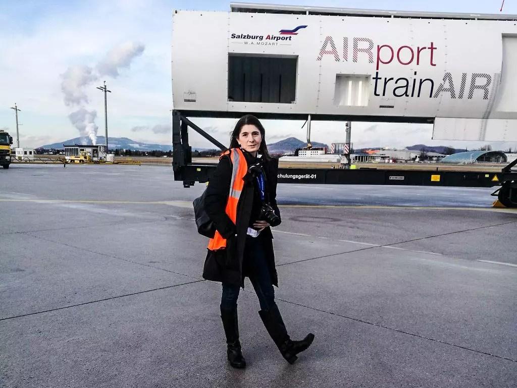 Am Flughafen Vorfeld