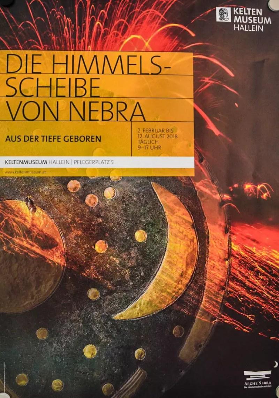 Poster Himmelsscheibe von Nebra