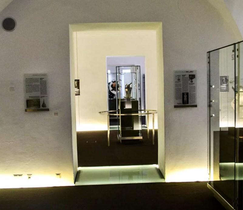 Ausstellung Erdgeschoss Keltenmuseum