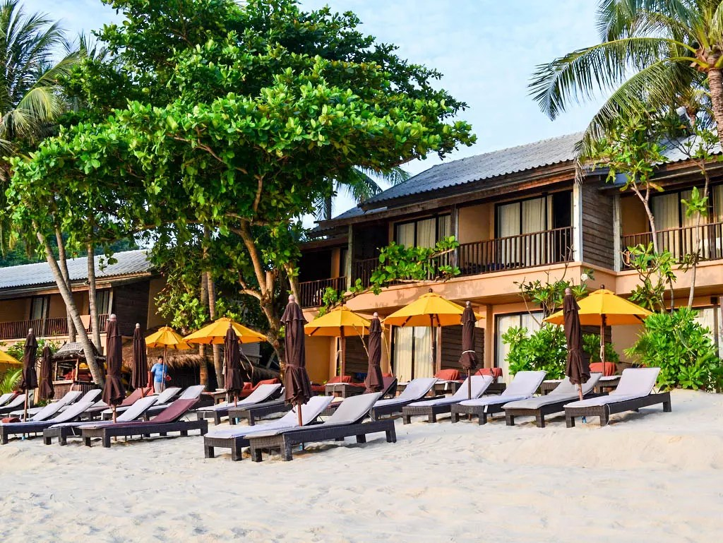 Hotel Buri Rasa Strandlage