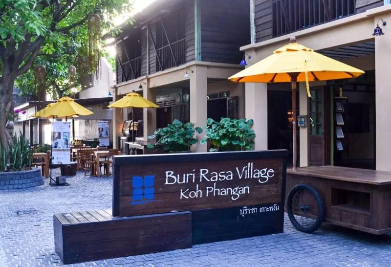 Eingangsbereich Buri Rasa Phangan