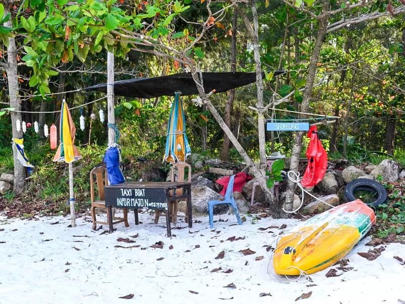 Taxiboot Station