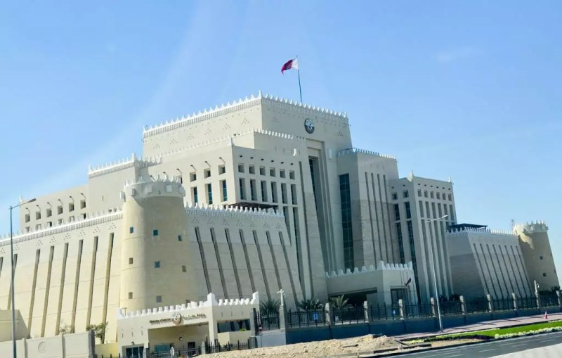 Ministriumsgebäude in Doha