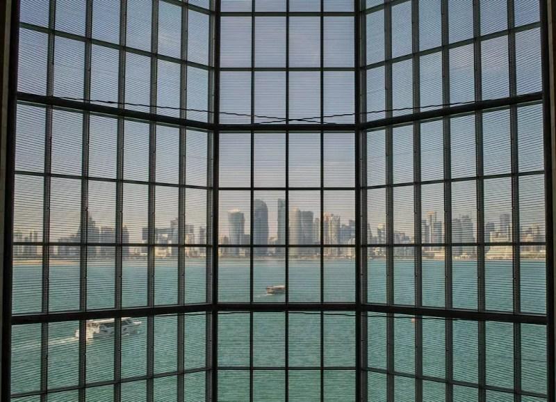 MIA Doha Blick auf Westbay
