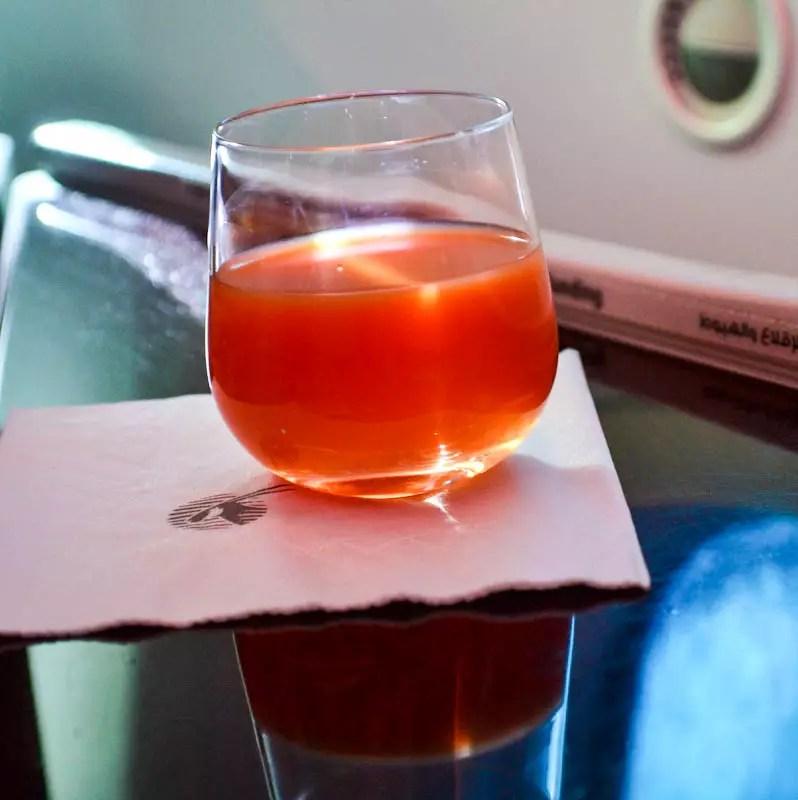 Mocktail Qatar Airways