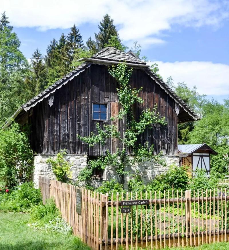 Bauernhaus im Freilichtmuseum Großgmain