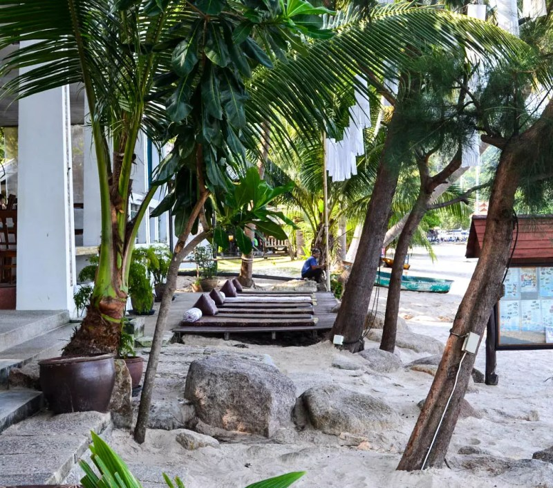 Koh Tao Montra Resort Strand