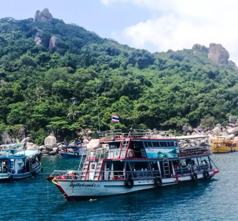 Tauchboot im Golf von Thailand