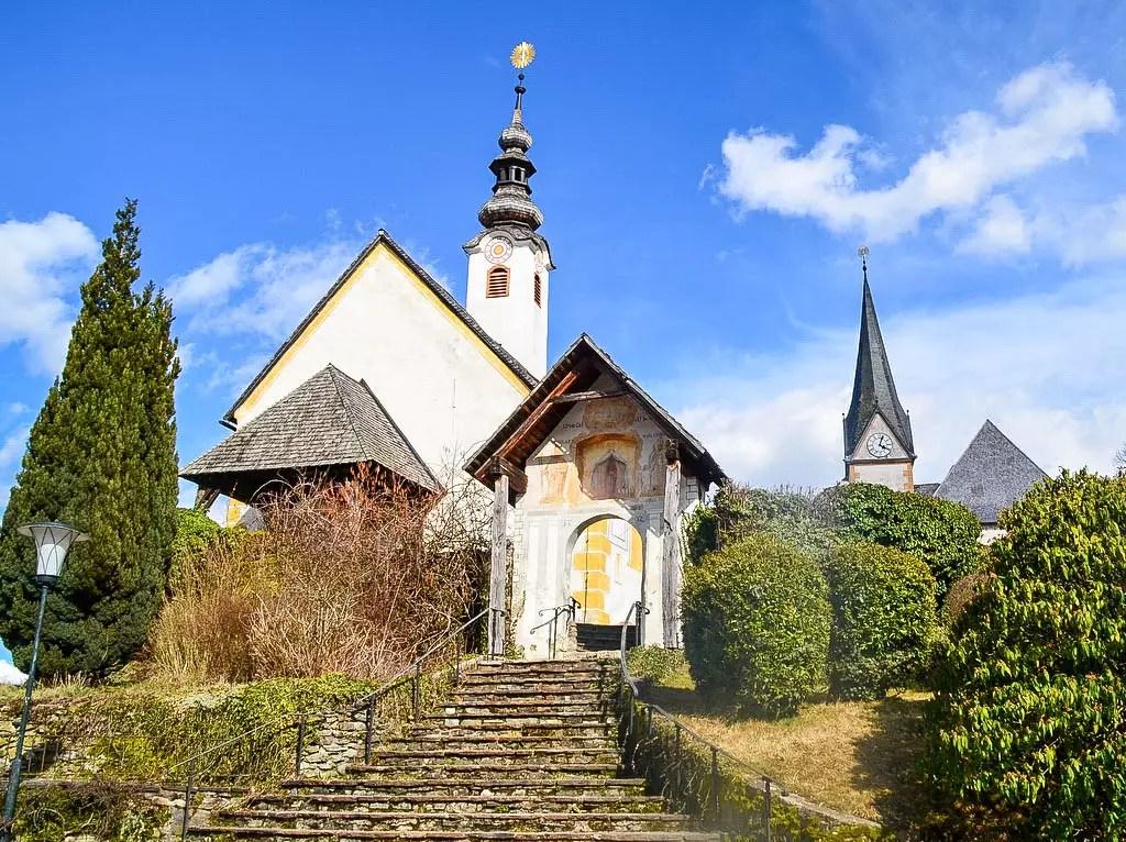 Kirche in Maria Wörth