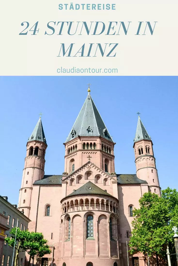 24 Stunden in Mainz, der Hauptstadt von rheinland-Pfalz. Neben dem Gutenberg Museum gibt es noch zahlreiche andere interessante Anlaufpunkte. #deutschland #mainz #gutenberg #reise #städtereise #24stunden