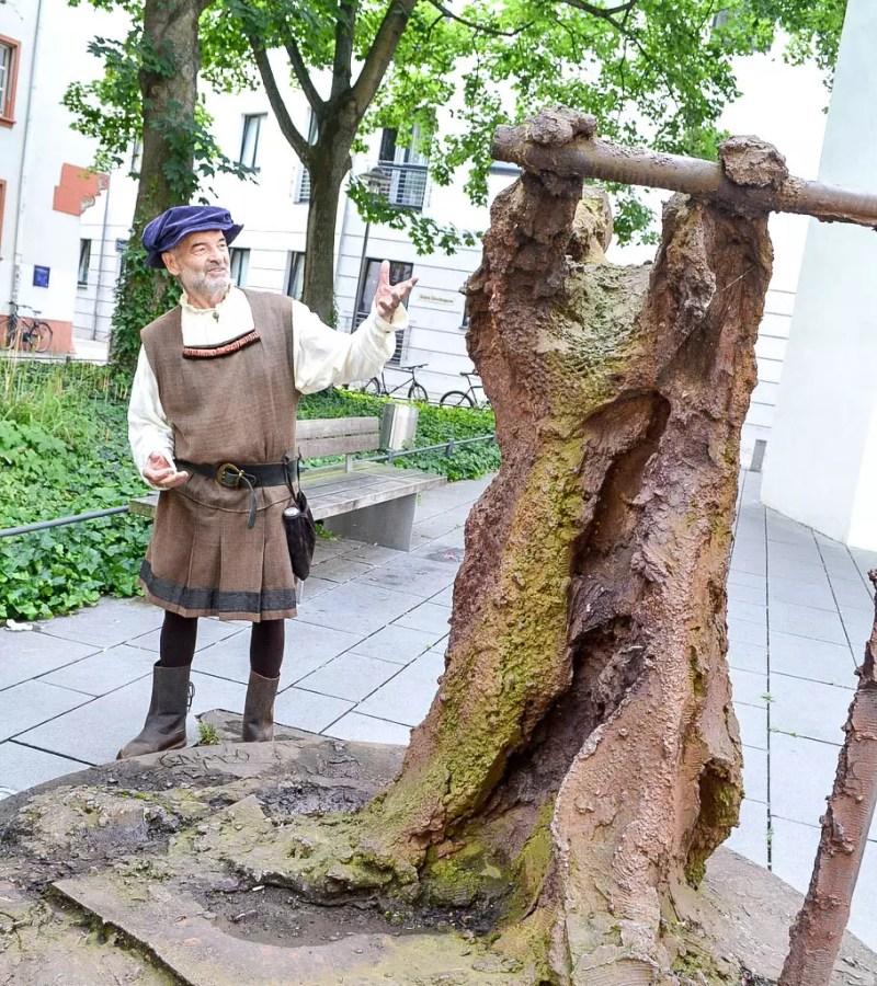Gutenberg Denkmal in Mainz