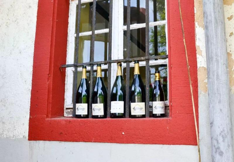 Weinflaschen Schloss Westerhaus