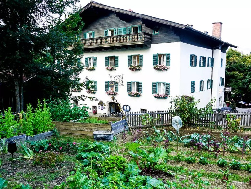 Seehof goldegg und Gemüsegarten
