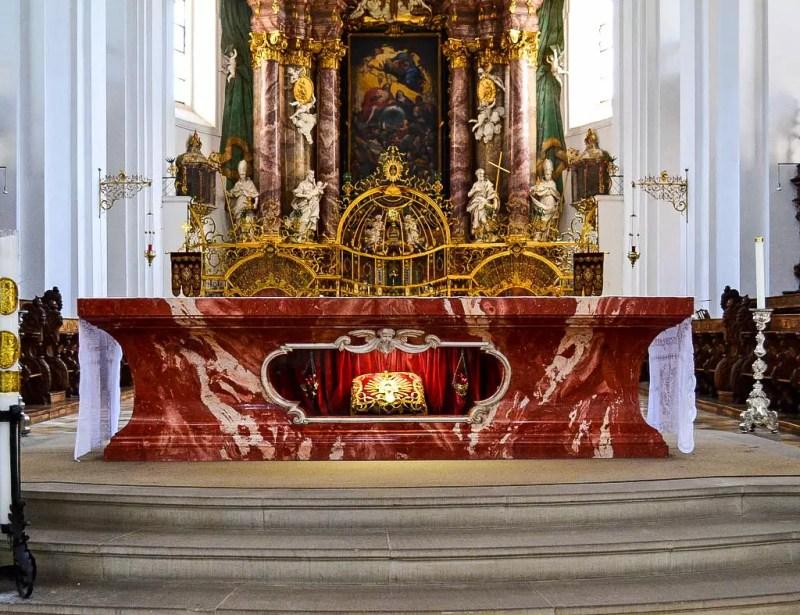 Blut Altar Weingarten