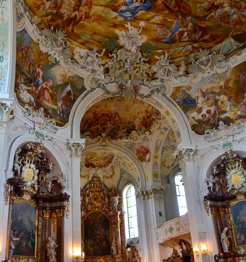 Barockkirche Sankt Katharina Innenansicht
