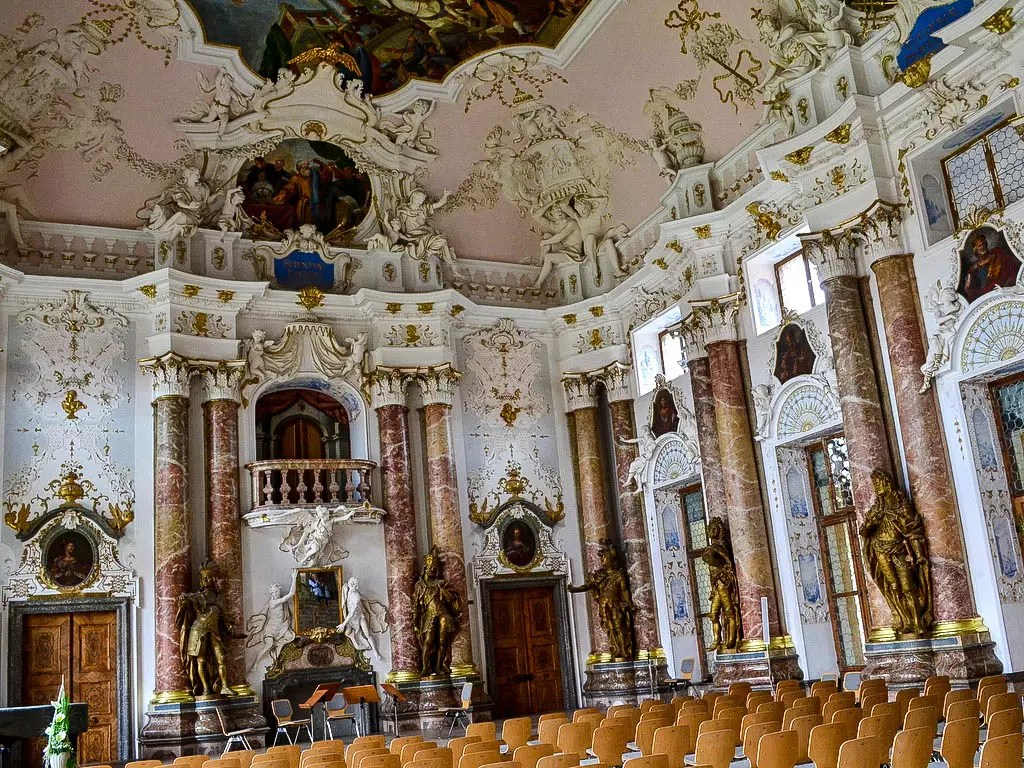 Kaisersaal Kloster Ottobeuren