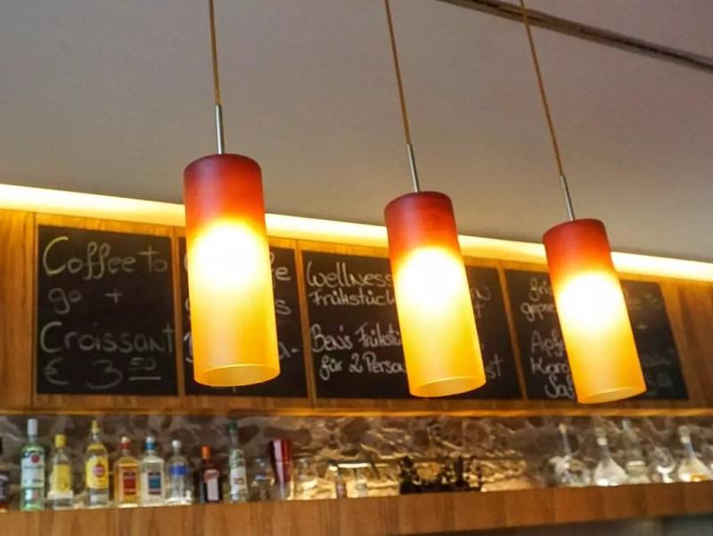 Barbereich Ben's Lencester Café