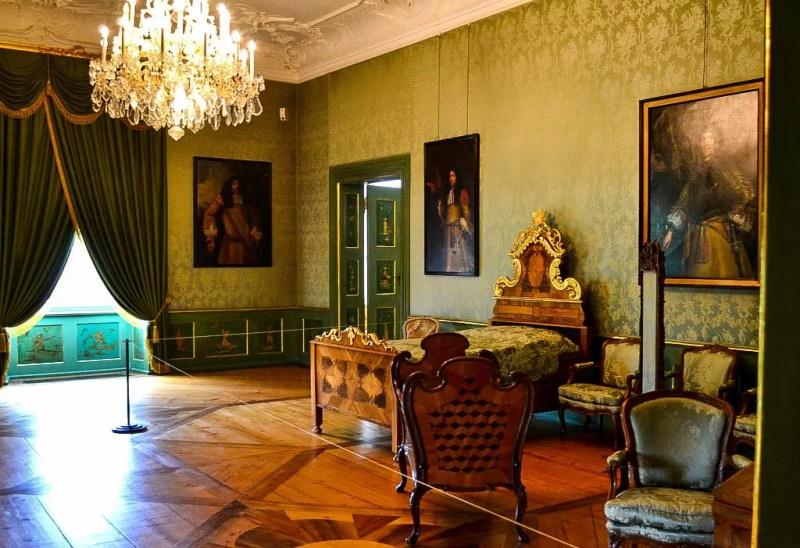 Schlafzimmer Schloss Tettneng
