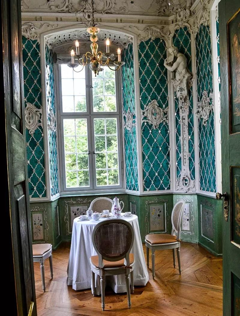 Spiegelzimmer im Schloss Tettnang