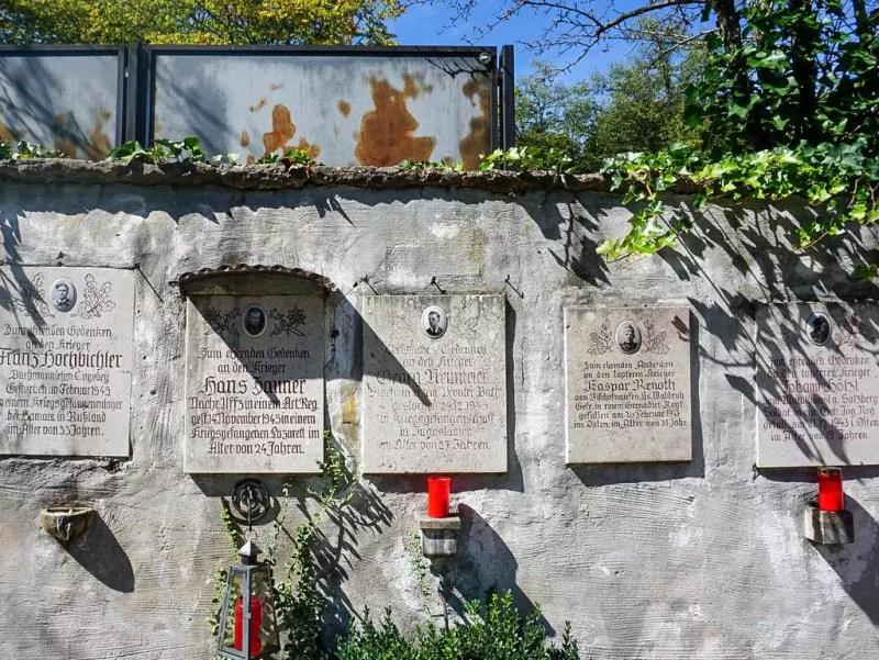 Friedhof in Berchtesgaden