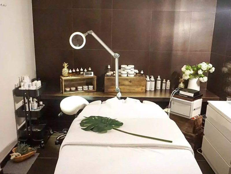 Kosmetik Behandlungsraum