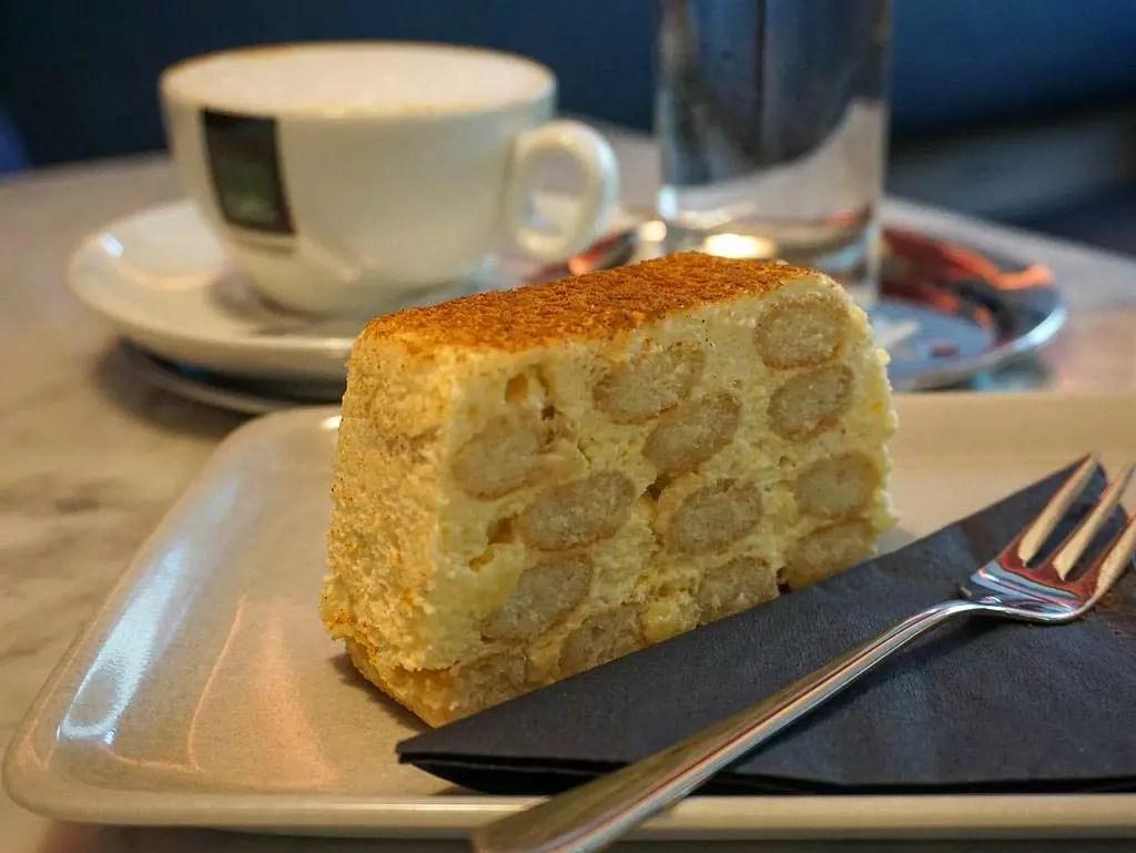 Tiramisu im Cafe Zwetschke