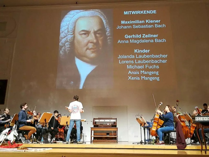 Generalprobe Bach for Kids