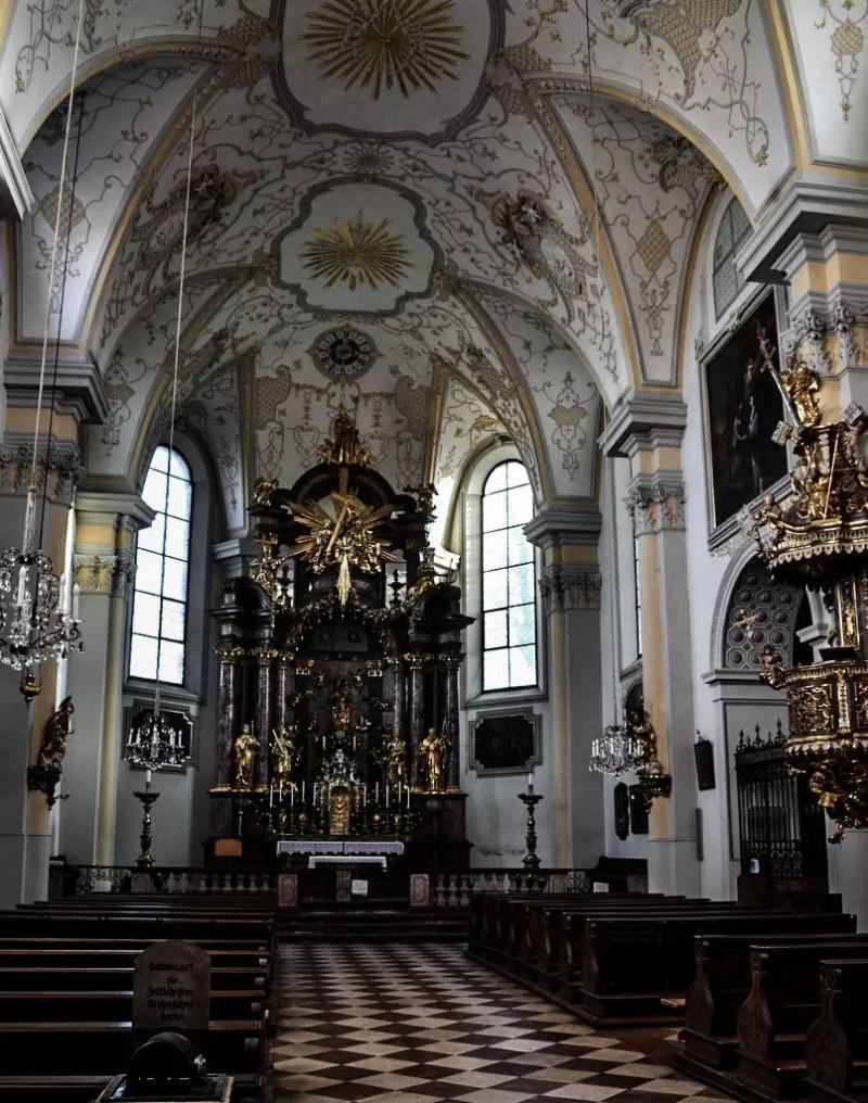 Altarraum Müllner Kirche