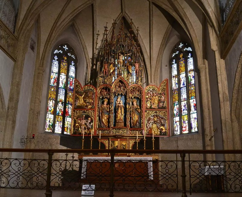 Altar Stiftskirche Nonnberg