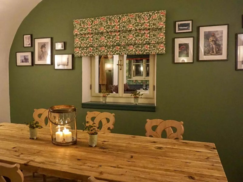 Stammtisch im Restaurant Leopold