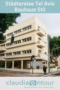 Bauhaus Stil in Tel Aviv