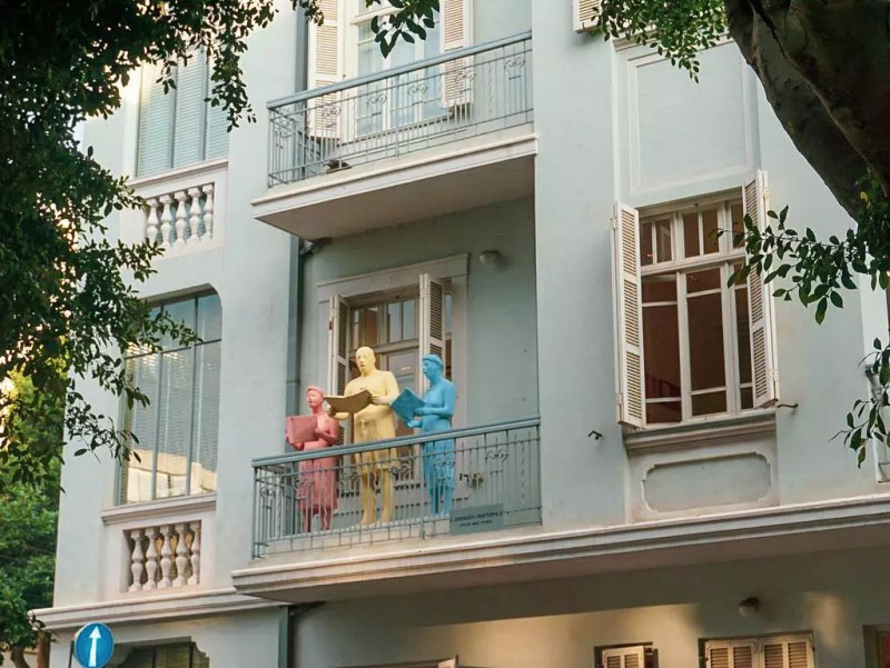 Balkon in Tel Aviv