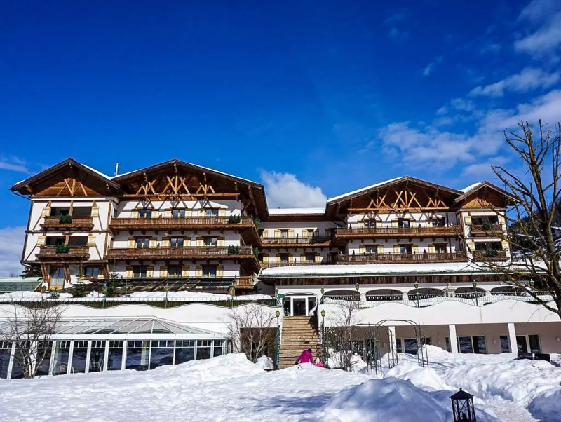 Oberforsthof Alpendorf im Winter