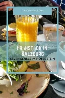 Frühstück im Seven Senses