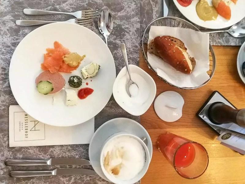 Frühstück im Nesslerhof
