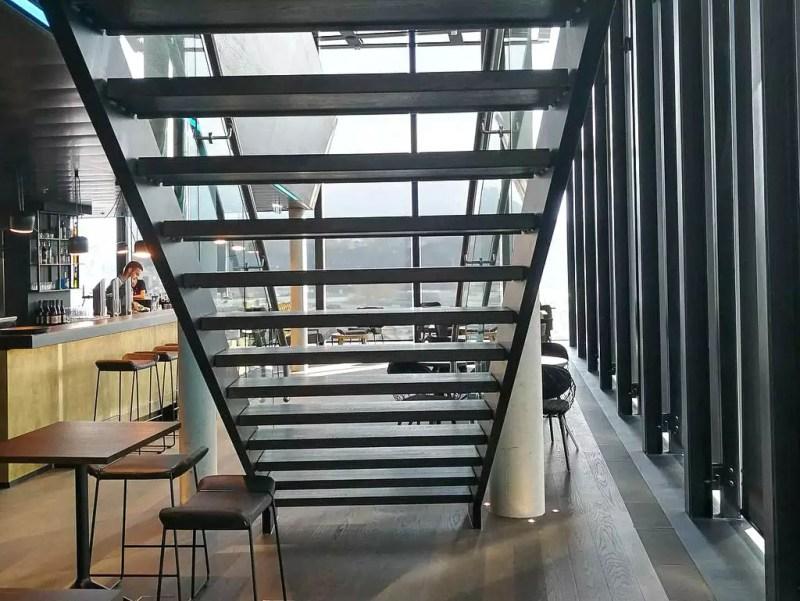 Treppe im Arte Hotel Salzburg