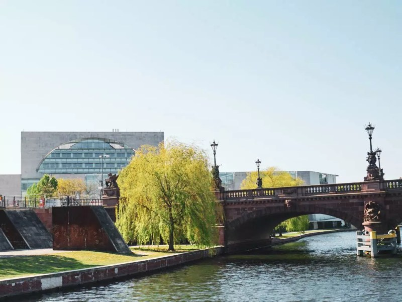 Regierungsviertel Berlin Moltkebrücke
