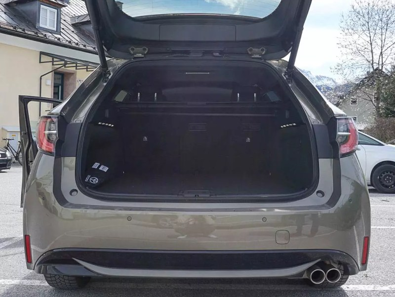 Kofferraum Toyota Corolla