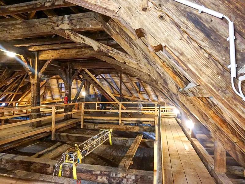 Dachboden Kollegienkirche