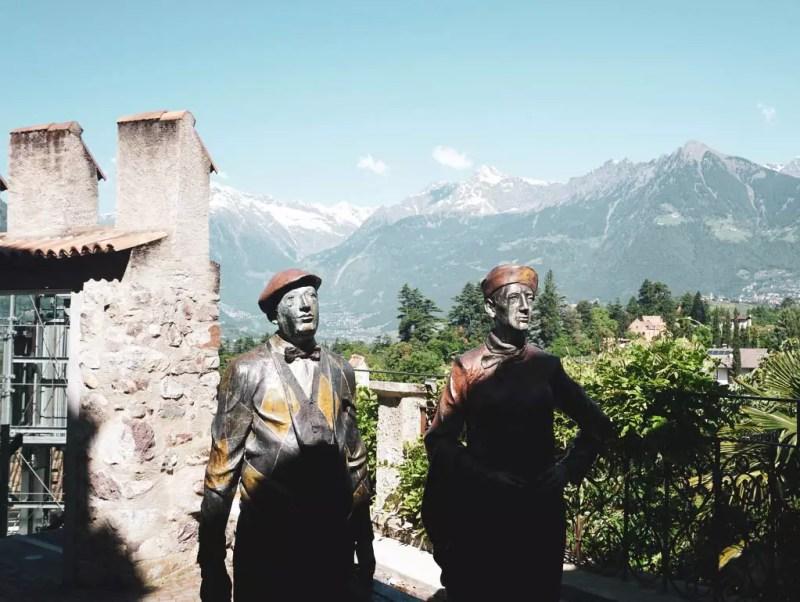 Schloss Trautmannsdorff Figuren