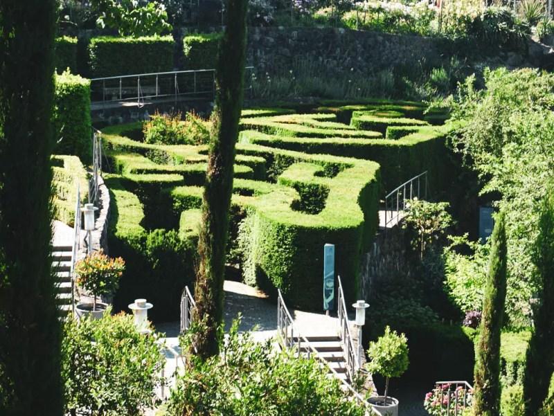 Labyrinth in Trauttmansdorff