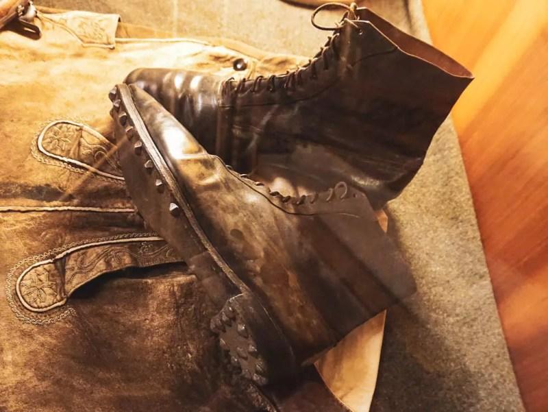 Schuhe Kaiser Franz Josef